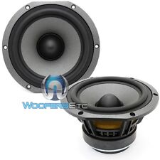 "(2) FOCAL 5V2352B 5.25"" MIDRANGES HOME AUDIO 4 OHM MID-WOOFER SPEAKERS NEW"