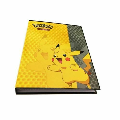 For Pikachu Ultra Pro Pokemon Card Folder 240//324 Pockets Portfolio Binder Album