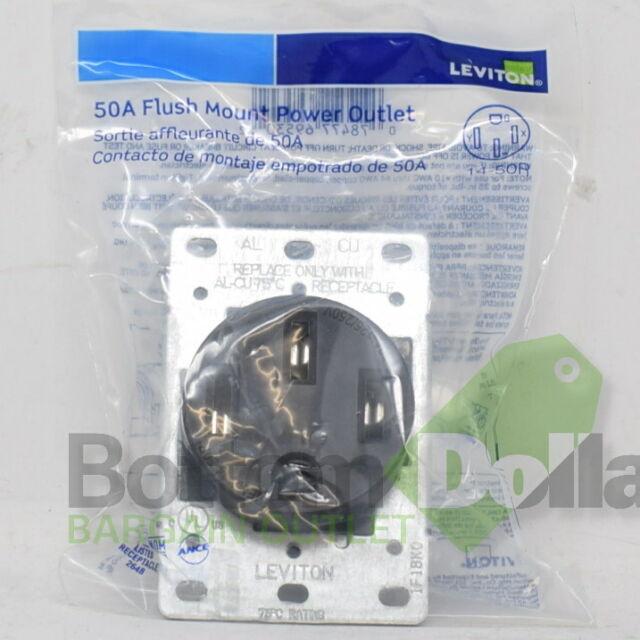 Cooper Arrow Hart 5709N 50A 250V NEMA 6-50 2-Pole//3-Wire Power Receptacle