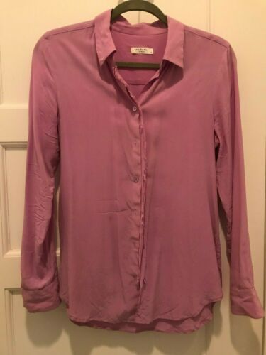 Equipment Femme silk blouse lavender size S