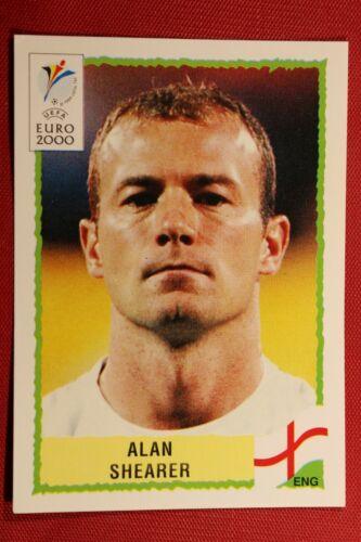 PANINI UEFA EURO 2000 N 93 SHEARER ENGLAND BLACK BACK TOP MINT!