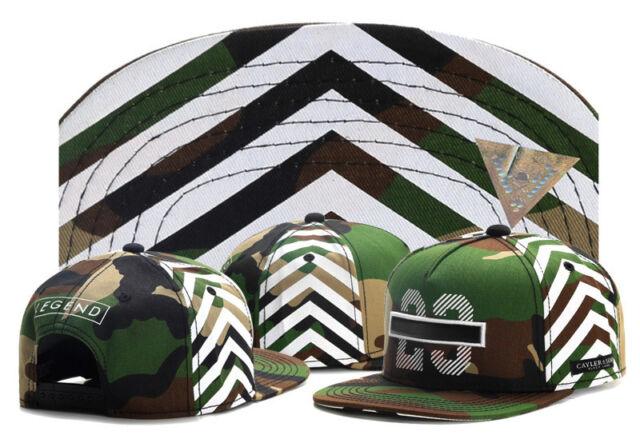 Hot Hip Hop Men's CAYLER Sons Hat adjustable Baseball Snapback Cap Camouflage