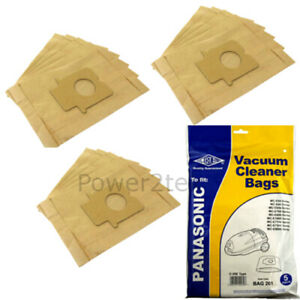 15 x C-20E Vacuum Bags for Panasonic MC-E780 MC-E781 MC-E782 Hoover UK
