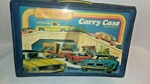 Vintage-Matchbox-Collector-039-s-Carry-Case-Holds-24-034-Matchbox-034-Cars-1978