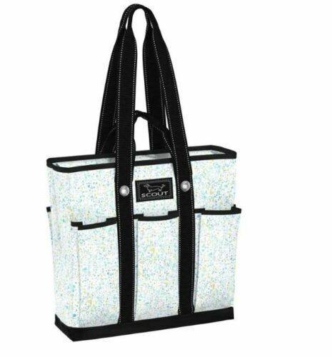 Scout Pocket Rocket Tote Bag w//Pockets Splash Dance Pattern 11260