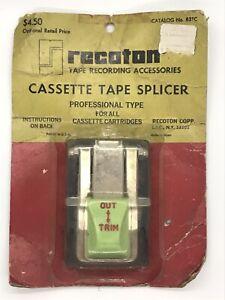 Vintage Casette Tape Splicer In Package