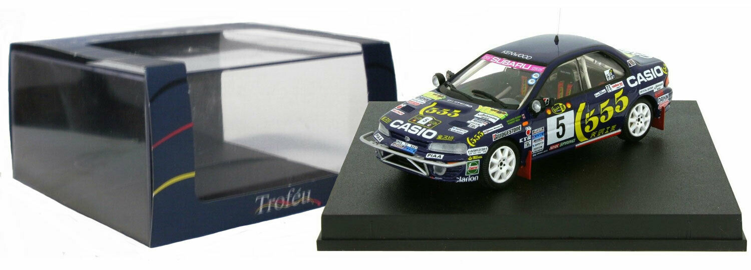 TROFEU 630 Subaru Impreza Wrx' 555' Safari Rally 1995-Richard Burns  échelle 1 43  vente