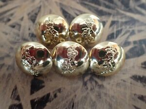 5-x-Australian-Army-RAEME-buttons19mm-made-by-Stokes-Melb-Lot-F