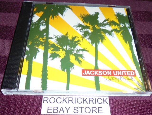 JACKSON UNITED - WESTERN BALLADS -14 TRACK CD-