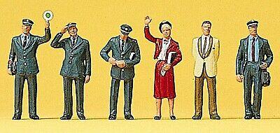Abile Preiser 10237 H0, Personale Di Scorta Treno Db, 6 Figure, Dipinta A Mano, Nuovo-mostra Il Titolo Originale Prezzo Ragionevole