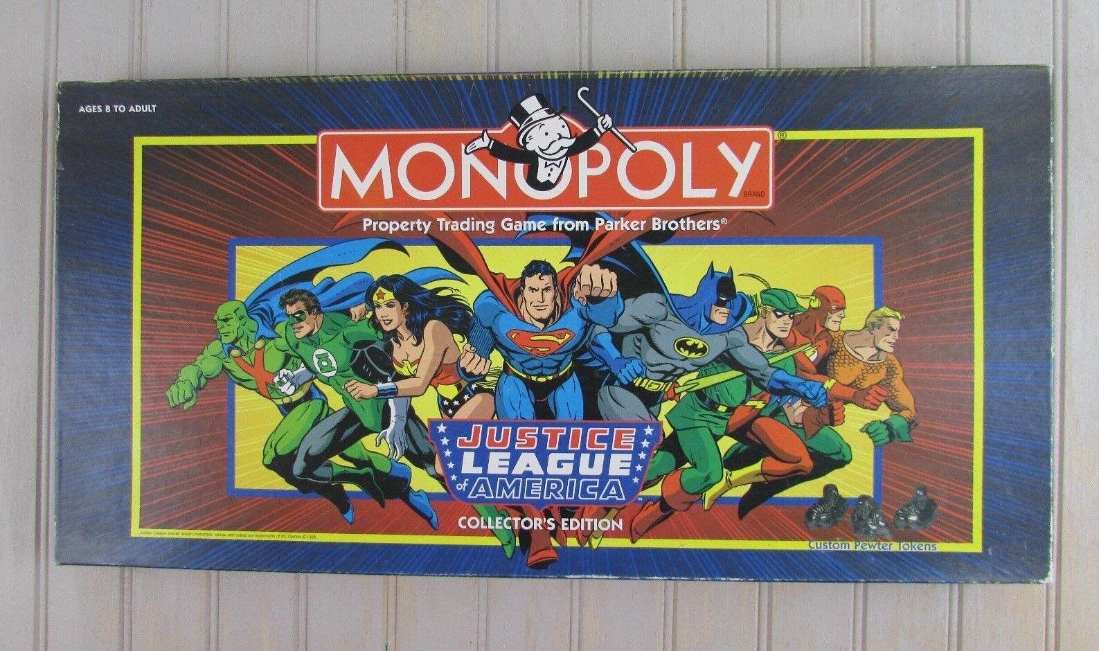 Die gerechtigkeitsliga monopol collectors edition 1999 abgeschlossen