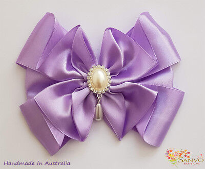 Wedding Party Bow Hair Clip Girl Woman JoJo  Bow Emma Wiggle Bow Lovers Clips