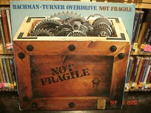 Bachman-Turner-Overdrive-Not-Fragile-Vintage-LP-see-all-pictures