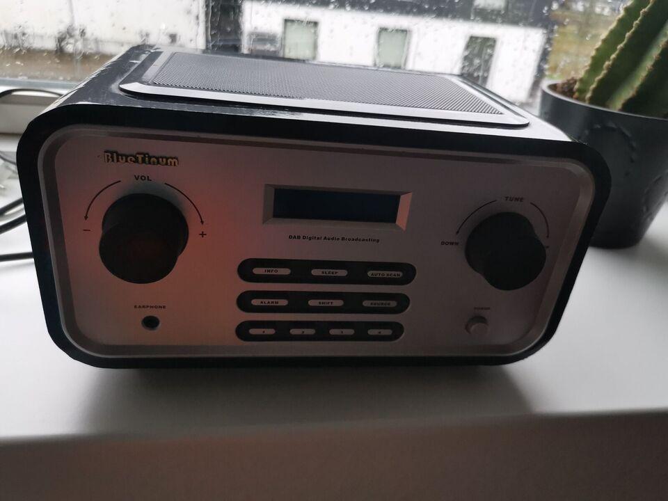DAB-radio, Andet, Blue tinum