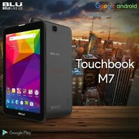 Blu Touchbook M7 P270 7 Hd Intel Dual Sim Tablet Gsm Unlocked Phone Black