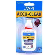 API Accu chiaro 37ml ACQUARIO torbido dell'acqua chiarificatore Accu-Clear