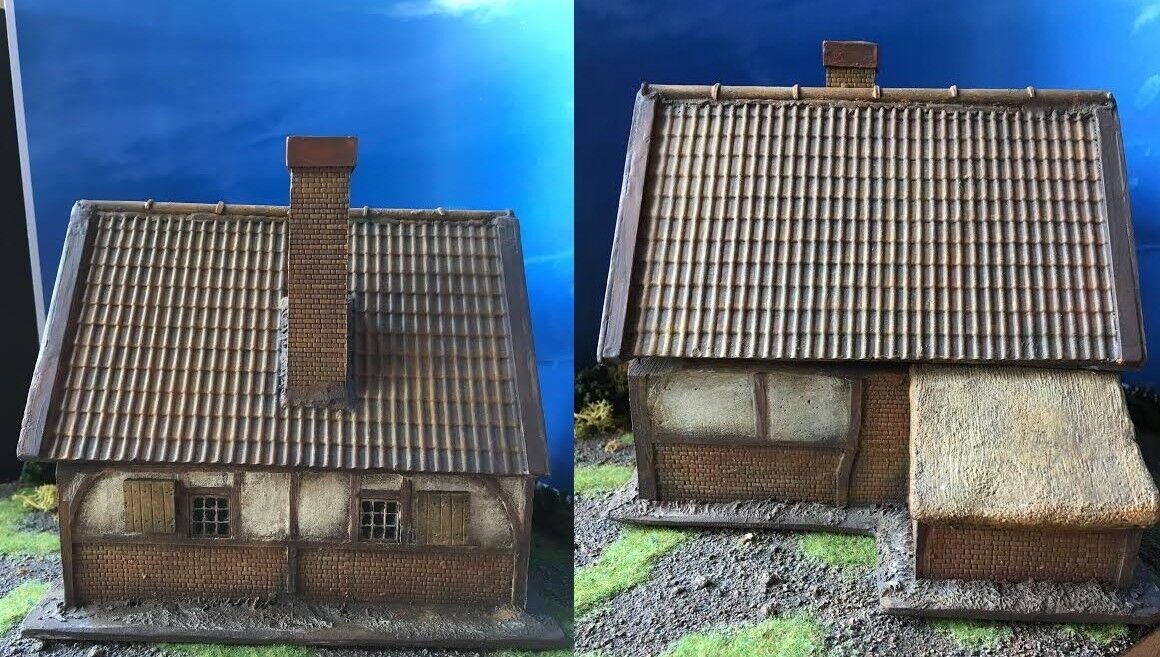 28MM PMC GAMES ME130 (PAINTED) 18th Century European House Suitable Grand Manor