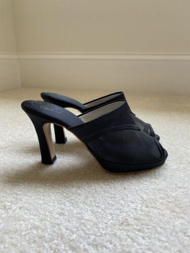 Saten Bell Silk Lingerie Slippers