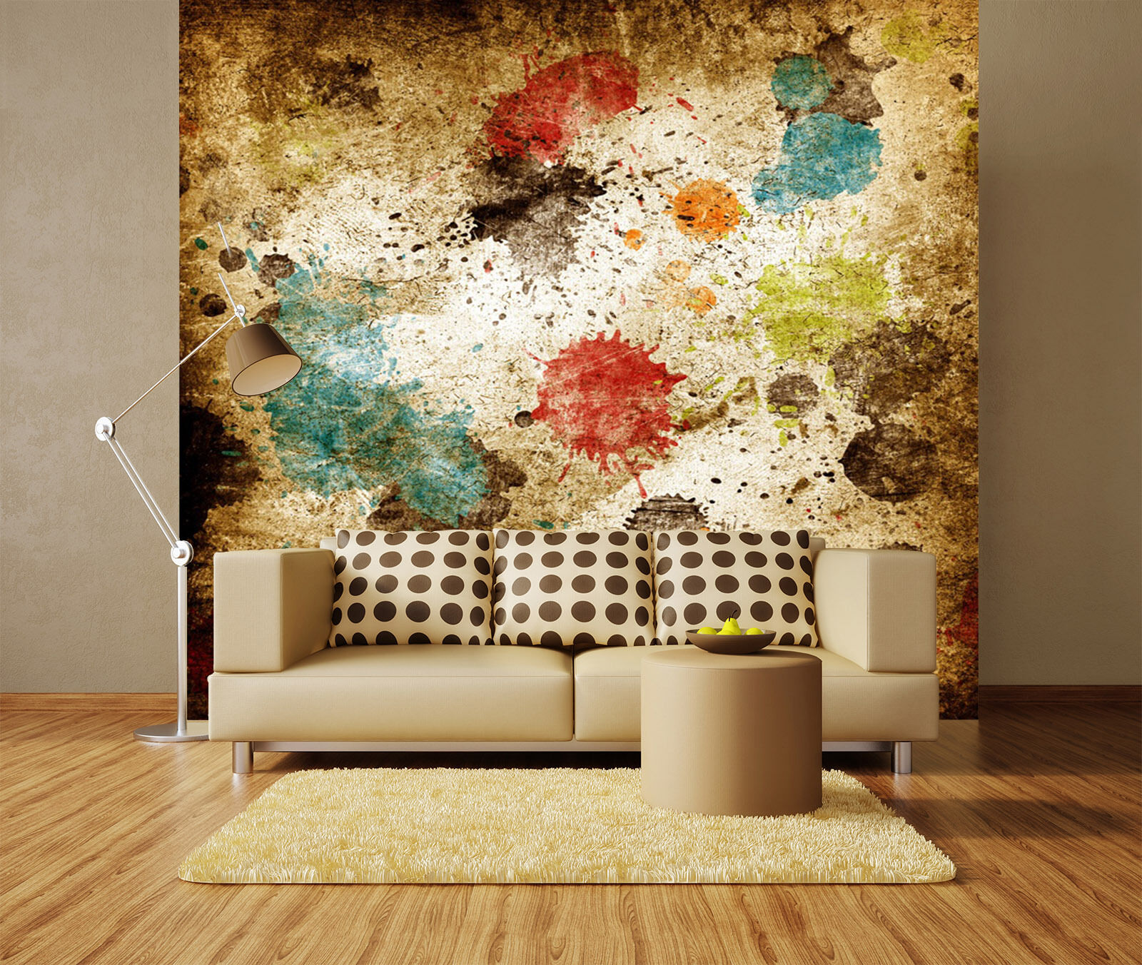 3D Ball, graffiti 230 Wall Paper Print Wall Decal Deco Indoor Wall Murals