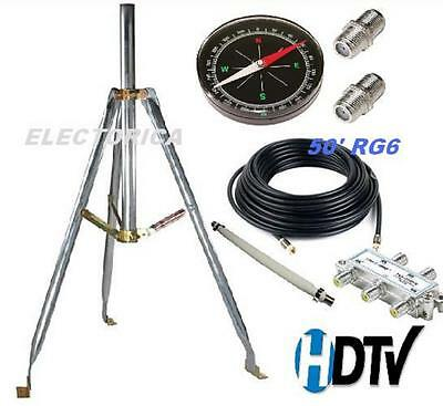 HDTV Off-Air Antenna 3 Foot Tripod Stand