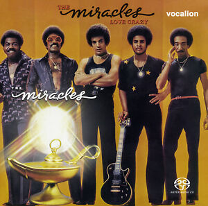 The Miracles - Love Crazy [SACD Multi-channel] & Miracles [SACD stereo only]