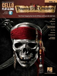 Pirates Of The Caribbean Cello Play-along Book And Audio 000194347-afficher Le Titre D'origine
