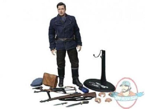 Movie Master Brad Pitt As Lt Aldo Raine Inglorious Basterds Hot Toys DAMAGED JC