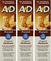 A + D Original Ointment, Diaper Rash & Skin Protectant - 4 Oz Tube (pack Of 3) on sale