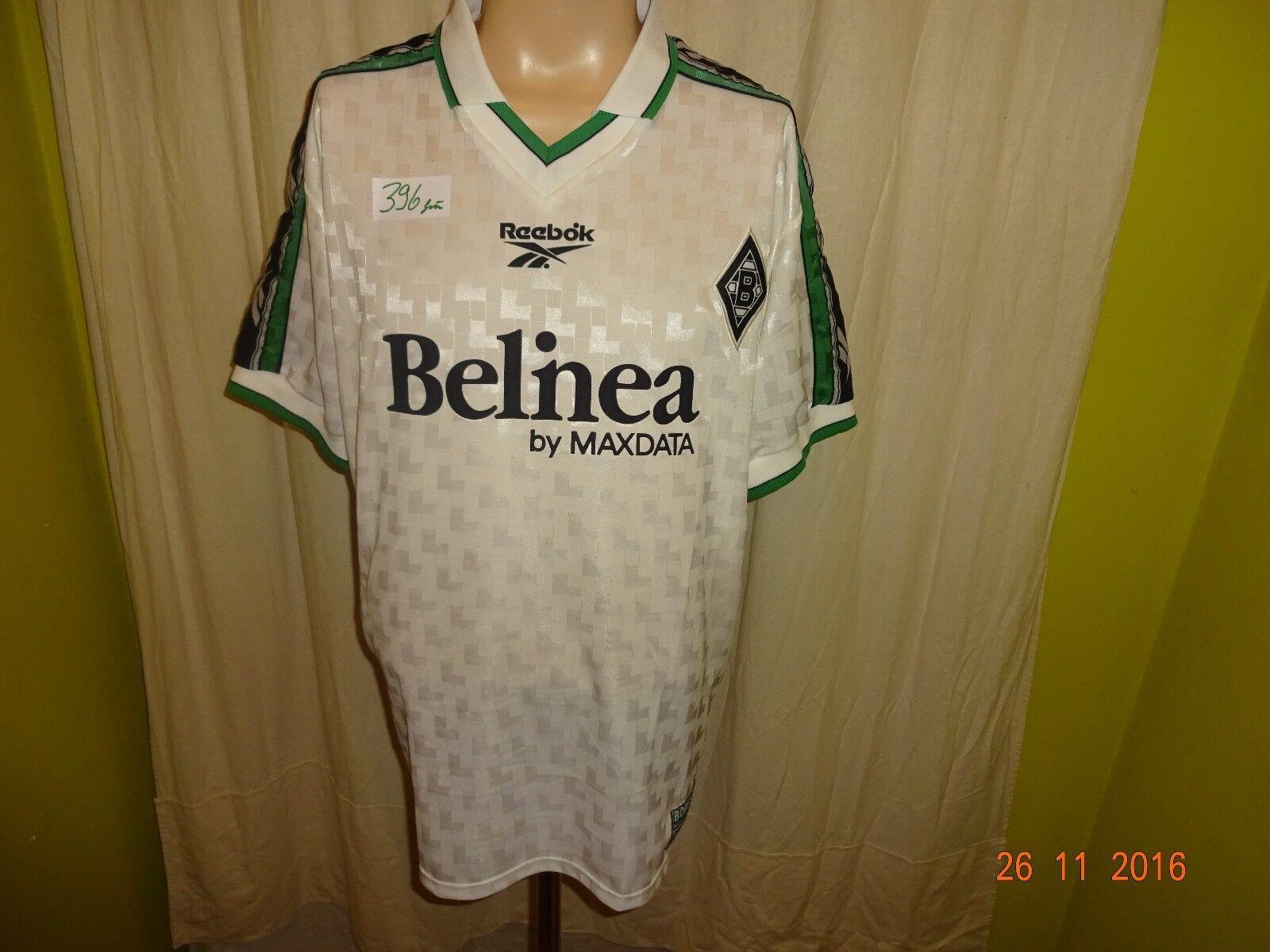 Borussia Mönchengladbach Reebok Reebok Reebok Limitiertes Trikot 1998 99  Belinea  Gr.L TOP 1f43b0