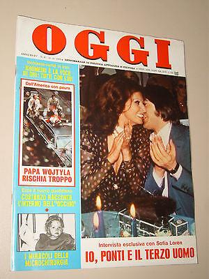 OGGI=1979/42=SOPHIA LOREN SERGE LAMA=MASSIMO ASNAGHI=CESARE TERRANOVA=BOOM POETI