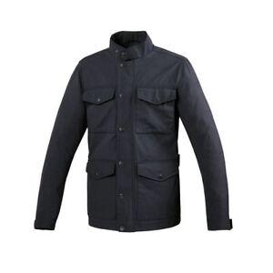 Giacca Field Jacket Taglio Motociclistico Blu Scuro Robert Tucano Urbano Size S Yspkcspu-07231742-956964248