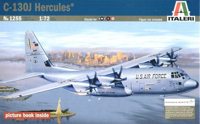 Italeri 1 72 C-130j Hercules  1255