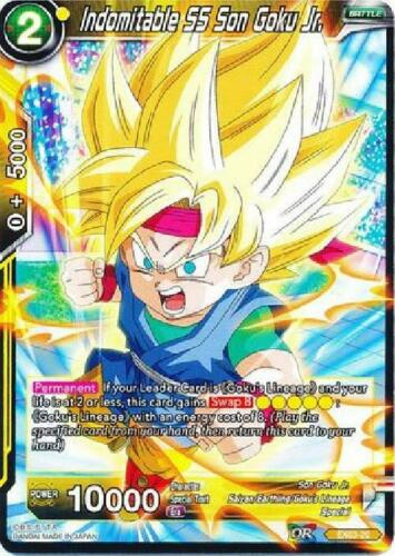 4x Indomitable SS Son Goku Jr Expansion Rare Near Mint EX03-20