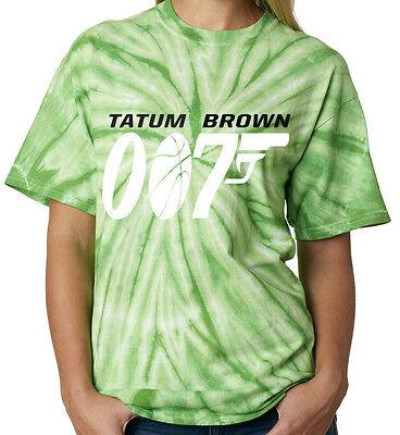 "Jayson Tatum Jaylen Brown Boston Celtics /""007/"" T-shirt Shirt or Long Sleeve"