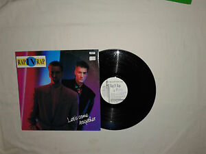 "Rap IV Rap ‎– Let's Come Together - Disco 12"" 45 Giri Vinile GERMANIA 1990 House - Italia - Rap IV Rap ‎– Let's Come Together - Disco 12"" 45 Giri Vinile GERMANIA 1990 House - Italia"