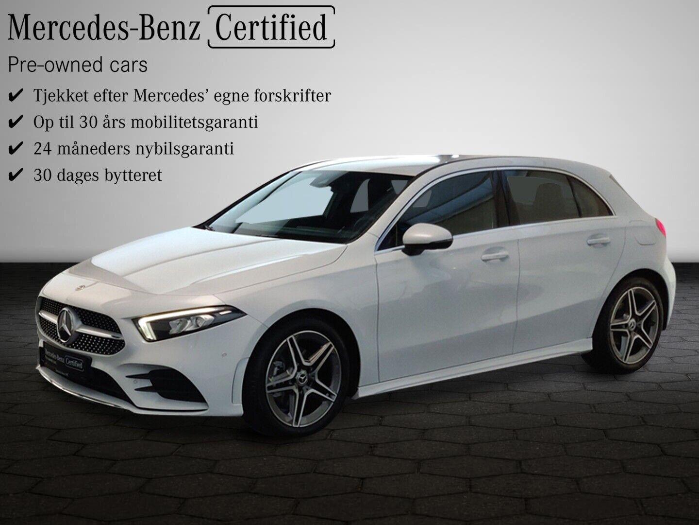 Mercedes A200 d 2,0 Advantage AMG aut. 5d - 354.800 kr.