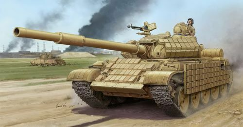 Trumpeter 1 35 Russian T-62 ERA Model 1972 Iraq Modification