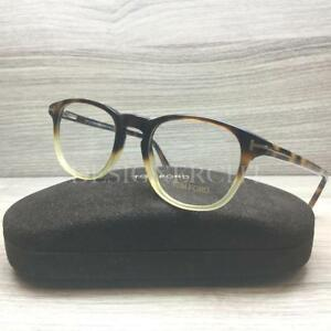 303aaefd2ed Image is loading Tom-Ford-TF-5389-TF5389-Eyeglasses-Havana-Gradient-