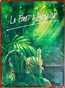 Plakat Gerollt La Spiralbohrer D 'em Eraude Emerald Forest John Boorman 60x80cm