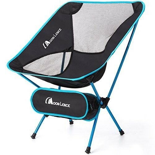 Outdoor Ultralight Portable Folding  Chair Camping, Beach Folding Chairs 242lbs  save 50%-75%off