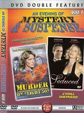 Murder On Flight 502-1975-Farrah Fawcett/Seduced-1985-Movie-DVD