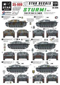 Star-Decals-1-35-STURM-1-StuG-III-Ausf-A-C-and-D-35999