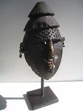 ANCIEN MASQUE CULTUELLE. ETHNIE BAMBARA. MALI. ART AFRICAIN.