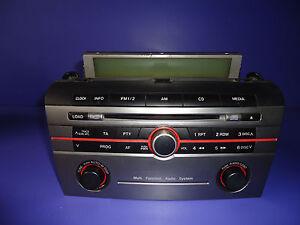 radio cd mazda 3 fl 6cd bose autoradio mazda 3 facelift. Black Bedroom Furniture Sets. Home Design Ideas