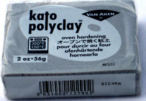 Polymer Clay Kato Polyclay Oven Jewelry Craft Bake Bar Van Aken 2 Oz BOGO!