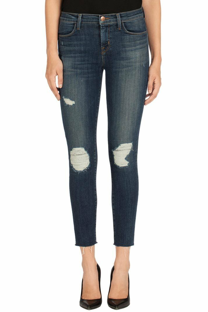 NWT J Brand 8226 Cropped Skinny jeans in trouble maker Retail  238