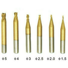 10 50mm Hss Twist Drill Bit Cutter Locksmith Tools For Key Cutting Machine