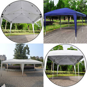 34785a7344 Details about 10'x20' Folding EZ Pop UP Wedding Party Tent Gazebo Canopy  Heavy Duty/ Carry Cas