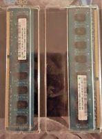 Lot 10 Pc Computer Memory Sticks (ram). . 5gb Total ( 4gb Hynix & 1gb Elpida)