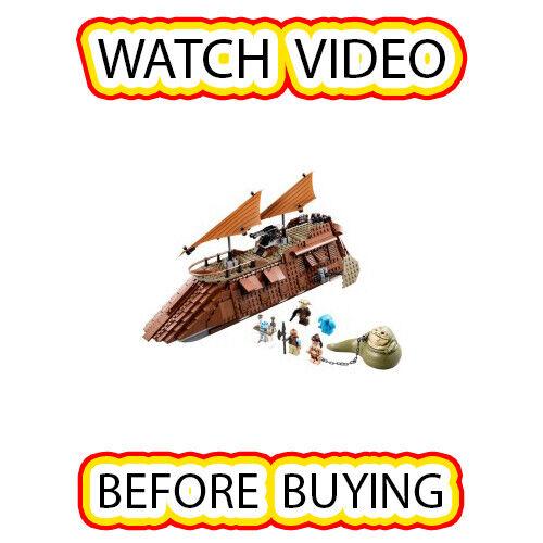 Lego Jabba's Sail Barge Set 75020 estrella guerras    estrella guerras Episode 4 5 6  il più recente